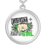 Lucha como un linfoma Non-Hodgkin 27,8 del chica Colgantes