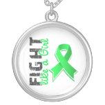 Lucha como un linfoma Non-Hodgkin 28,8 del chica Pendientes Personalizados