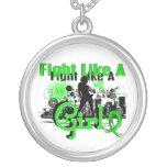 Lucha como un linfoma Non-Hodgkin 30,8 del chica Joyeria Personalizada