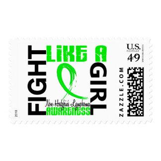 Lucha como un linfoma Non-Hodgkin del chica 3,3 Franqueo