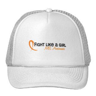 Lucha como un ms del chica 6,3 gorro
