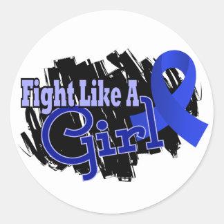 Lucha como un RA 17 8 de la artritis reumatoide de Pegatina