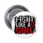 Lucha como un SIDA 31,8 del chica Pins