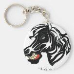 Lucha como un Zebra.png Llaveros Personalizados