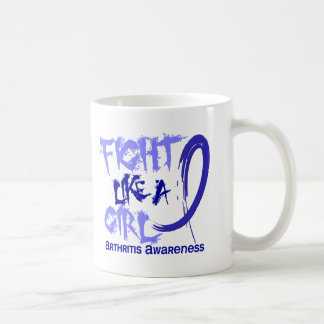 Lucha como una artritis del chica 5,3 taza de café