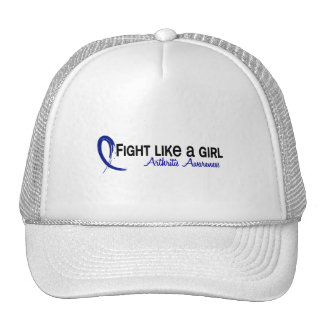Lucha como una artritis del chica 6,3 gorros