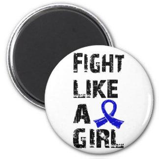 Lucha como una artritis reumatoide 21 8 del chica imán de frigorifico