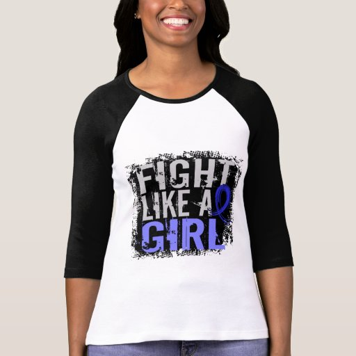 Lucha como una artritis reumatoide 31,8 del chica camisetas