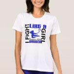 Lucha como una artritis reumatoide 3,2 del chica camisetas