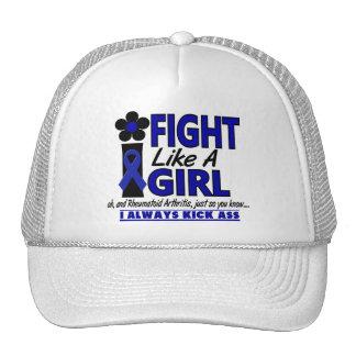 Lucha como una artritis reumatoide del chica 1,2 gorros