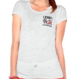 Lucha como una diabetes juvenil 15 6 del chica camiseta