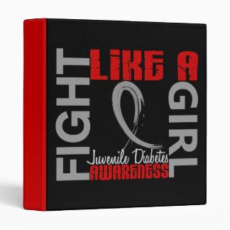 Lucha como una diabetes juvenil del chica 3,3