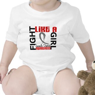 Lucha como una diabetes juvenil del chica 3,3 trajes de bebé