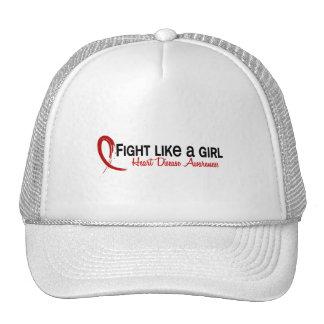 Lucha como una enfermedad cardíaca del chica 6,3 gorra