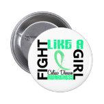 Lucha como una enfermedad celiaca del chica 3,3 pins