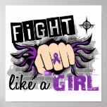 Lucha como una fibrosis quística 27,8 del chica impresiones