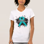 Lucha como una salpicadura del chica - PKD Camiseta