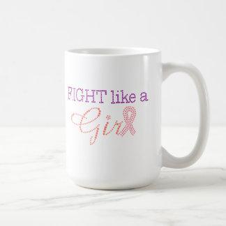 Lucha como una taza del chica