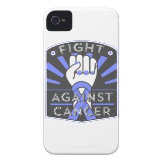Lucha contra cáncer de estómago iPhone 4 carcasa