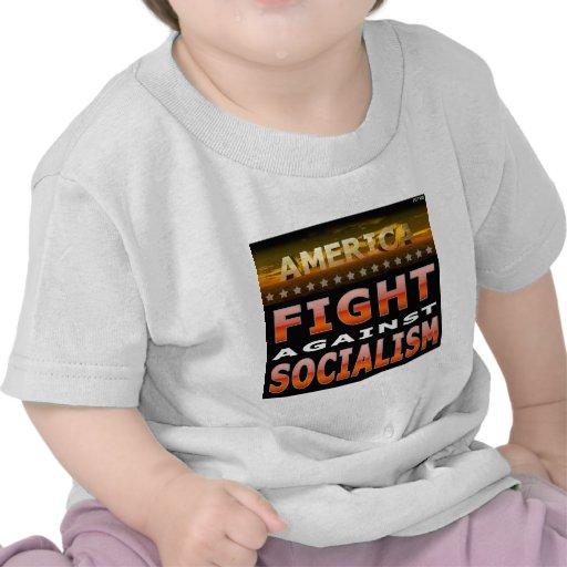 Lucha contra socialismo camiseta