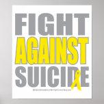 Lucha contra suicidio posters