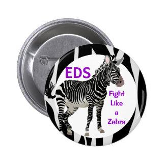 Lucha de Ehlers-Danlos como una conciencia del EDS Pin
