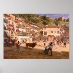 Lucha de entrenamiento en Vizcaya, 1869 Posters