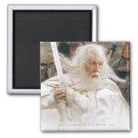 Lucha de Gandalf con la espada Imán Para Frigorífico
