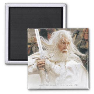 Lucha de Gandalf con la espada Imán Cuadrado