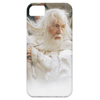 Lucha de Gandalf con la espada iPhone 5 Funda