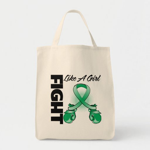 Lucha de la cinta del verde esmeralda como un chic bolsa