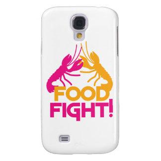 ¡lucha de la comida! cangrejos de las langostas funda para galaxy s4
