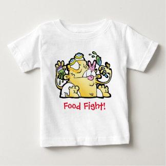 ¡Lucha de la comida! Playera De Bebé