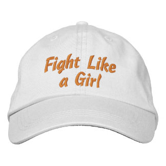 Lucha de la conciencia de la leucemia como un chic gorras bordadas