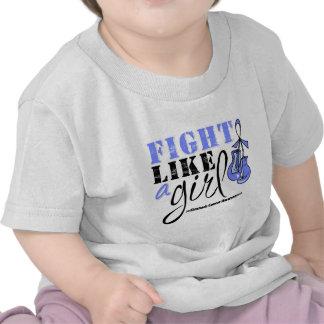 Lucha de la conciencia del cáncer de estómago como camiseta