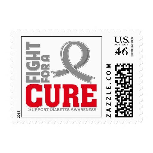 Lucha de la diabetes para una curación franqueo
