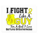 Lucha de la endometriosis como un individuo 15 tarjetas postales