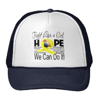 Lucha de la endometriosis podemos hacerla gorras de camionero