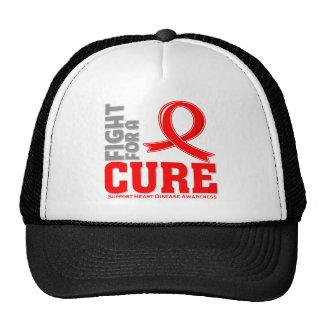 Lucha de la enfermedad cardíaca para una curación gorro