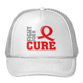 Lucha de la enfermedad cardíaca para una curación gorros