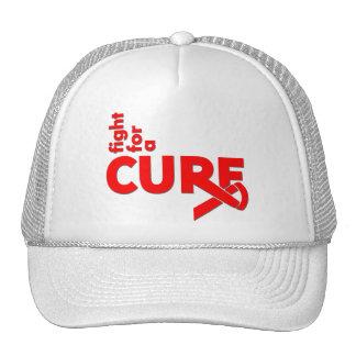 Lucha de la enfermedad cardíaca para una curación gorra