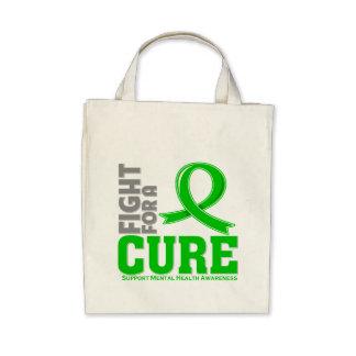 Lucha de la enfermedad de la salud mental para una bolsa