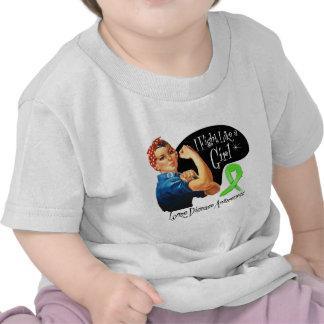 Lucha de la enfermedad de Lyme como un chica Rosie Camisetas