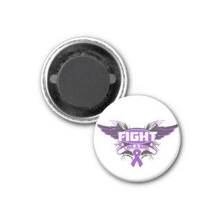 Lucha de la epilepsia como un chica Wings.png Iman Para Frigorífico