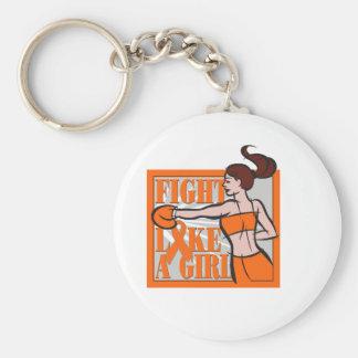 Lucha de la esclerosis múltiple como un boxeador d llaveros