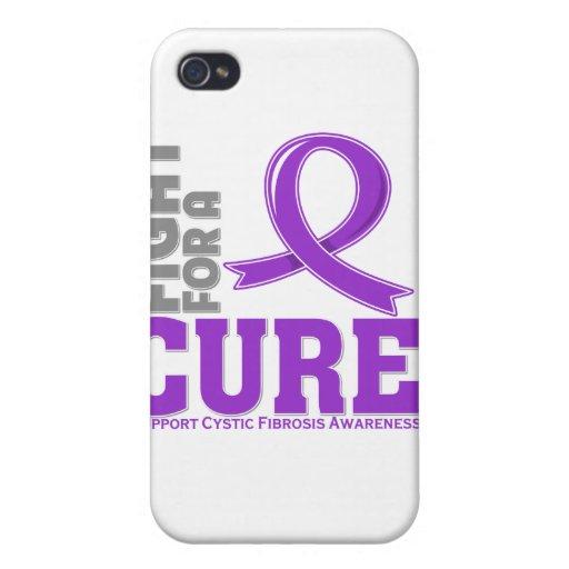 Lucha de la fibrosis quística para una curación iPhone 4/4S funda