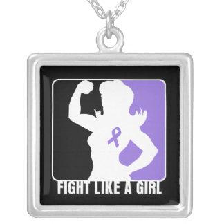 Lucha de la fuerza del linfoma de Hodgkin como un Collar Personalizado