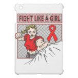 Lucha de la hemofilia como un sacador del chica
