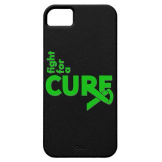 Lucha de la parálisis cerebral para una curación iPhone 5 Case-Mate cárcasas