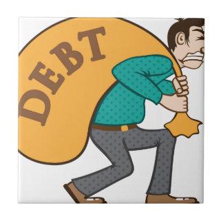 Lucha de la presión/de la carga de la deuda azulejo cuadrado pequeño